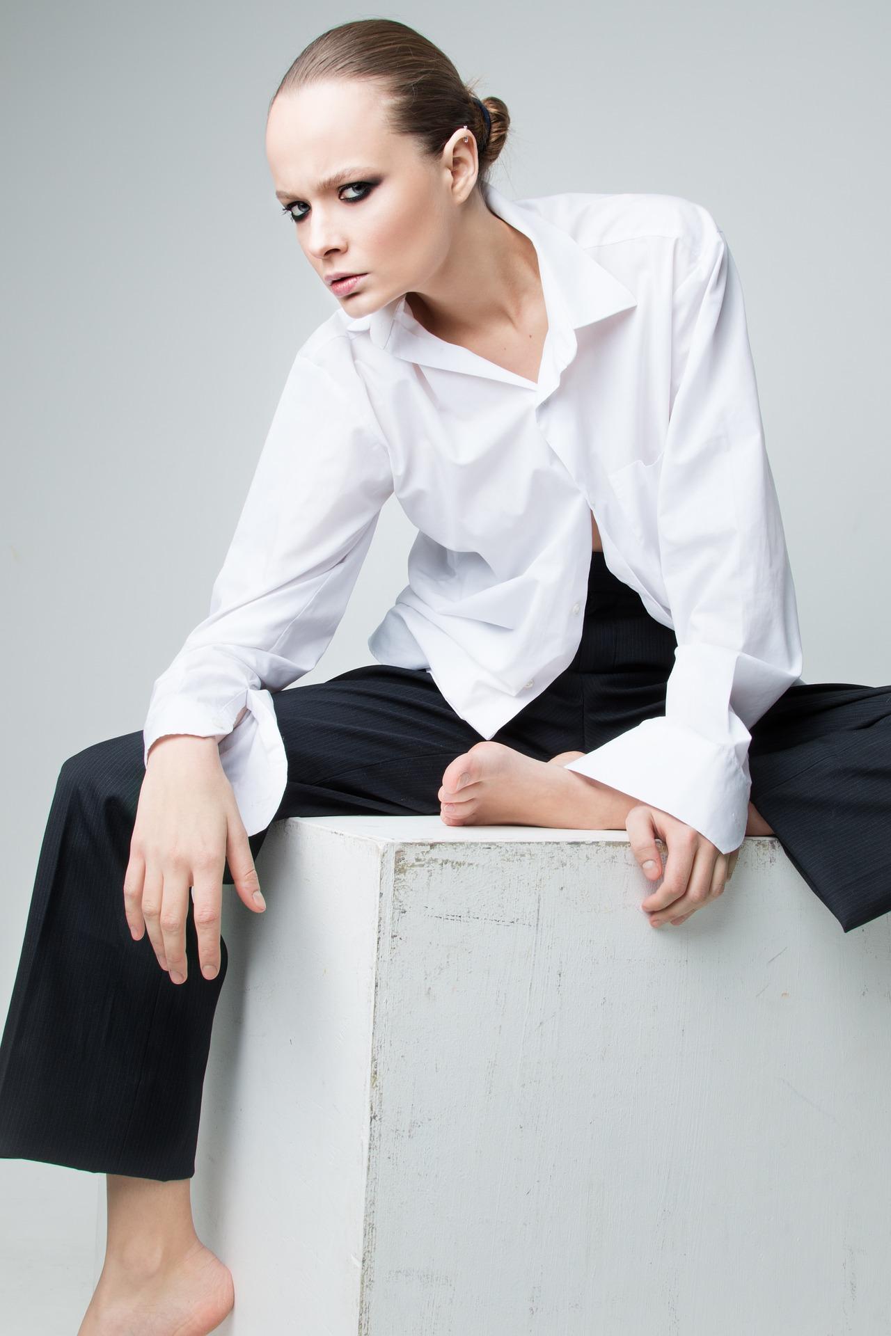 koszula biała damska